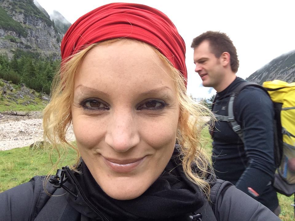 Die Journalistin Tina Groll und der Motivationstrainer Sergej Linz