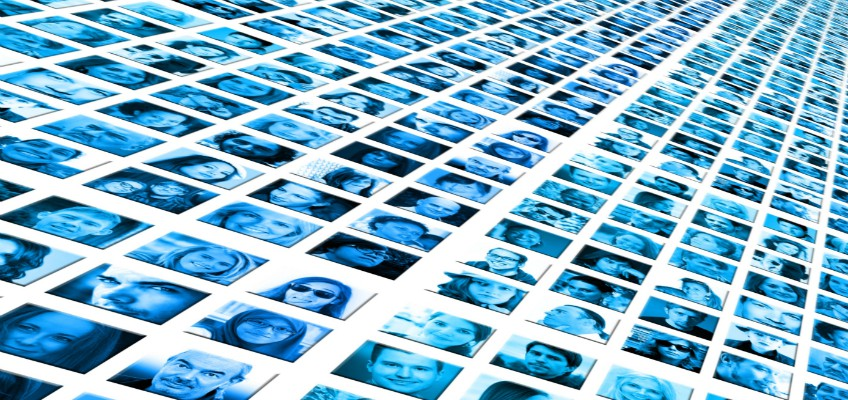 Collage as Porträtbildern
