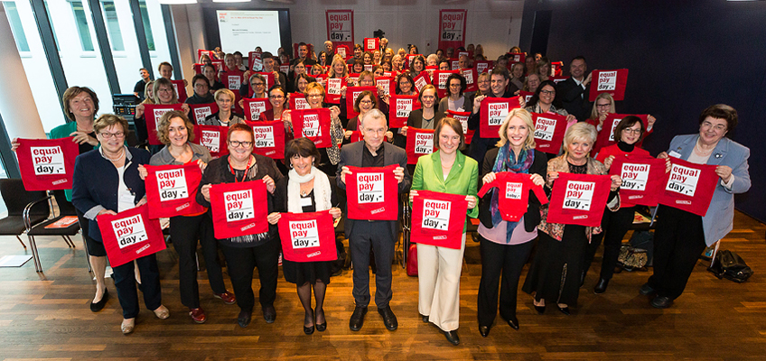 equal pay day 2016 Auftaktveranstaltung