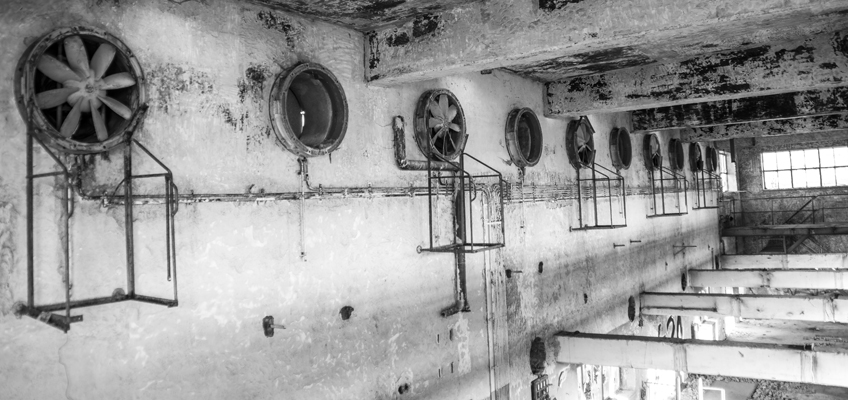 Alte Fabrikruine