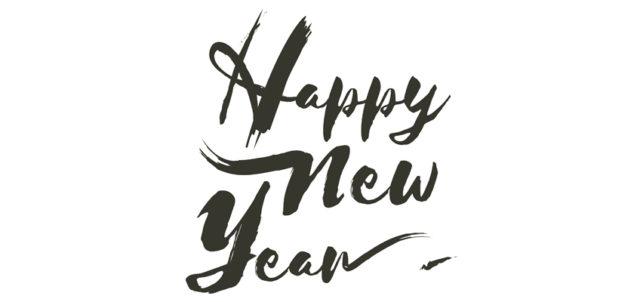 Schriftzug Happy New Year