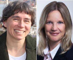 Petra Spille und Dr. Angela Rohde