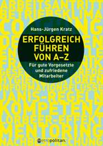 Cover Erfolgreich führen von A - Z