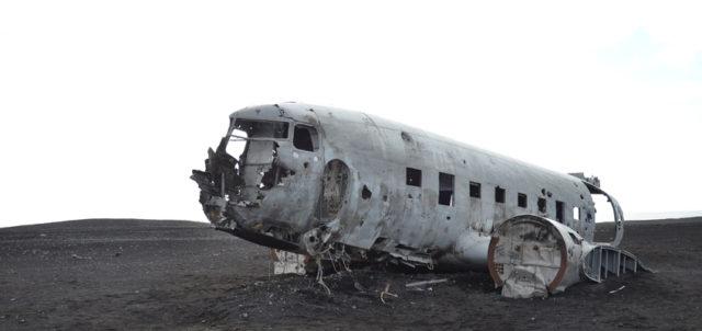 Flugzeugruine