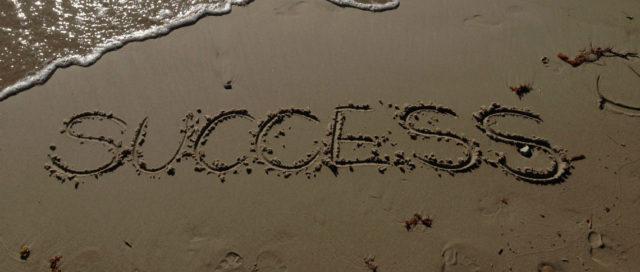 Schriftzug Success