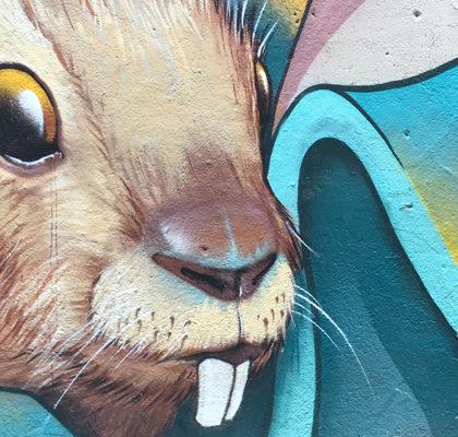 Panisches Kaninchen