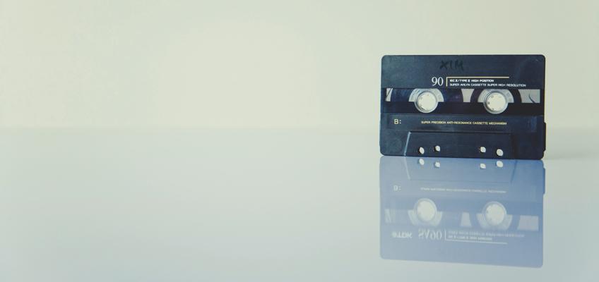 Kassette für Kassettenrecorder