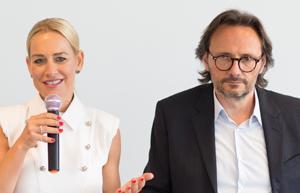 Peter Brandl und Katja Porsch