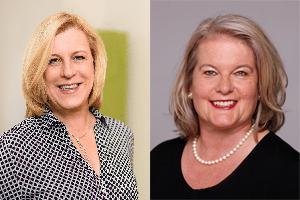 Frauke Ion und Barbara Kramer