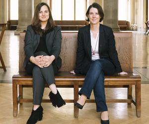 Meike Schreiber und Angelika Slavik