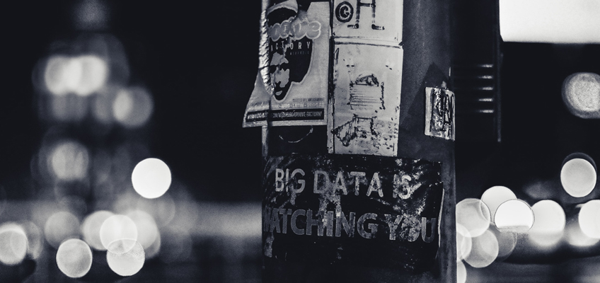 Aufkleber Big Data Is Watching You