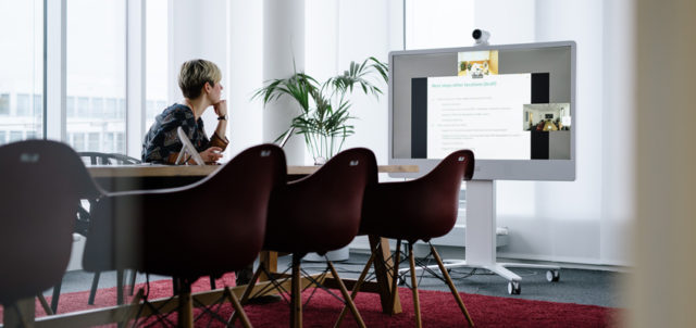 Meetingraum bei New Work SE