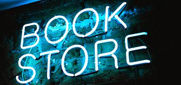 Reklameschrift Bookstore