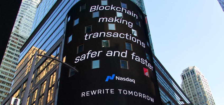 Werbetafel Time Square New York